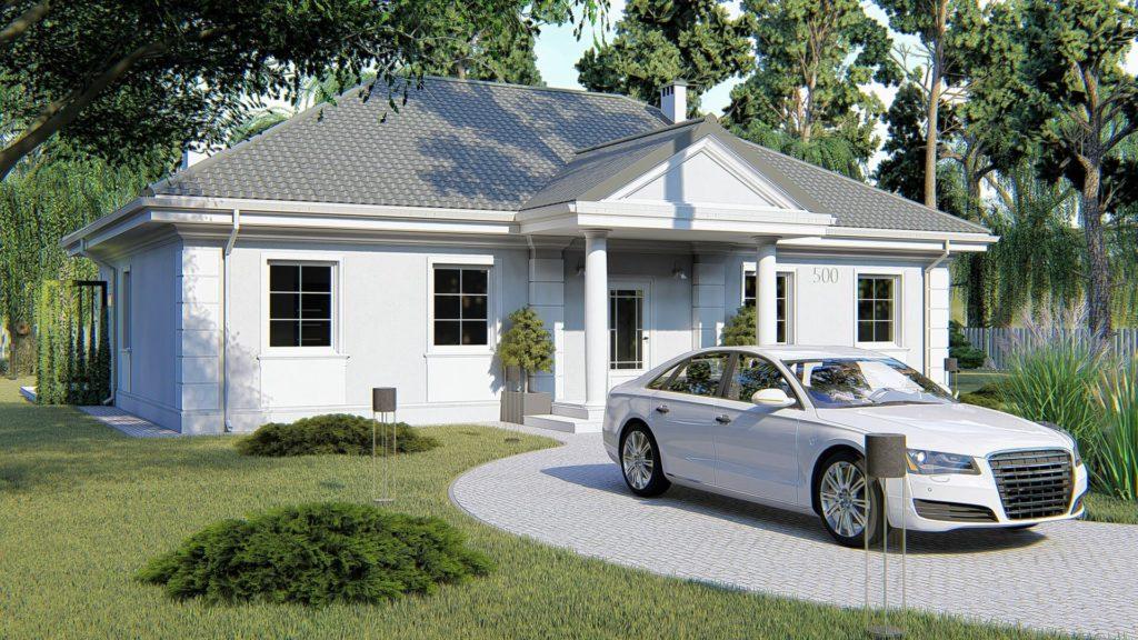 dom parterowy KP-500_6